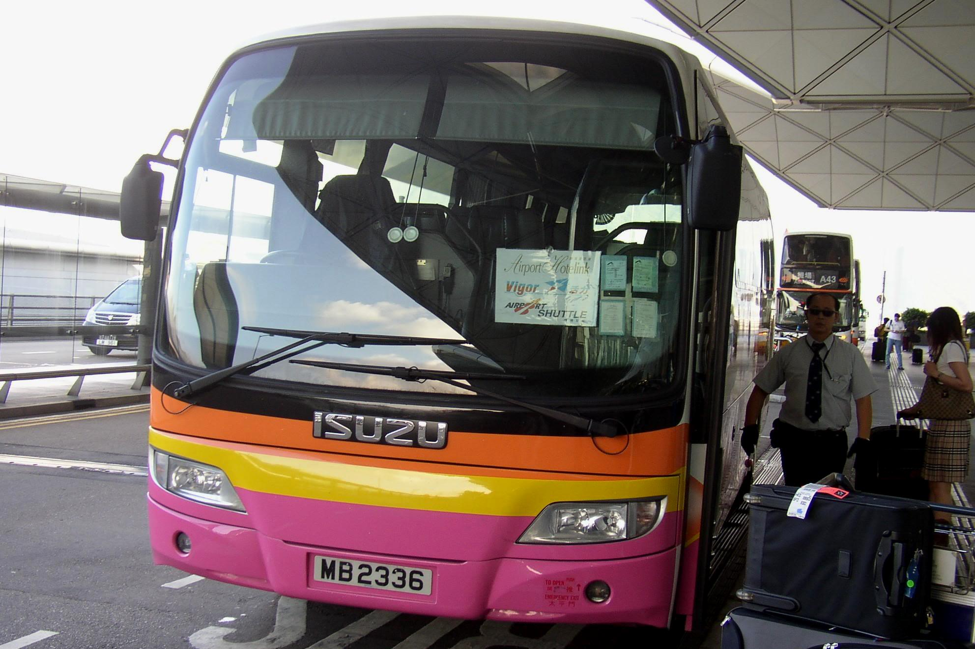 Hong Kong Airport Shuttle Bus Tickets