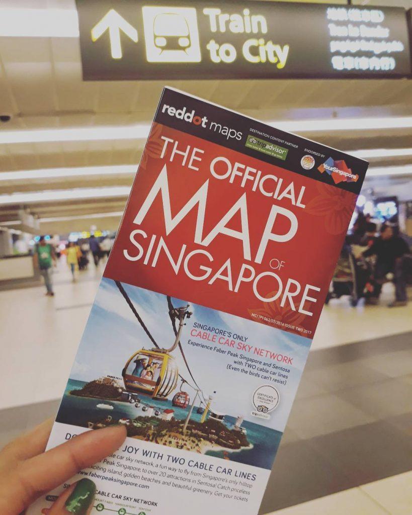 backpacker ke Singapura: Changi Airport