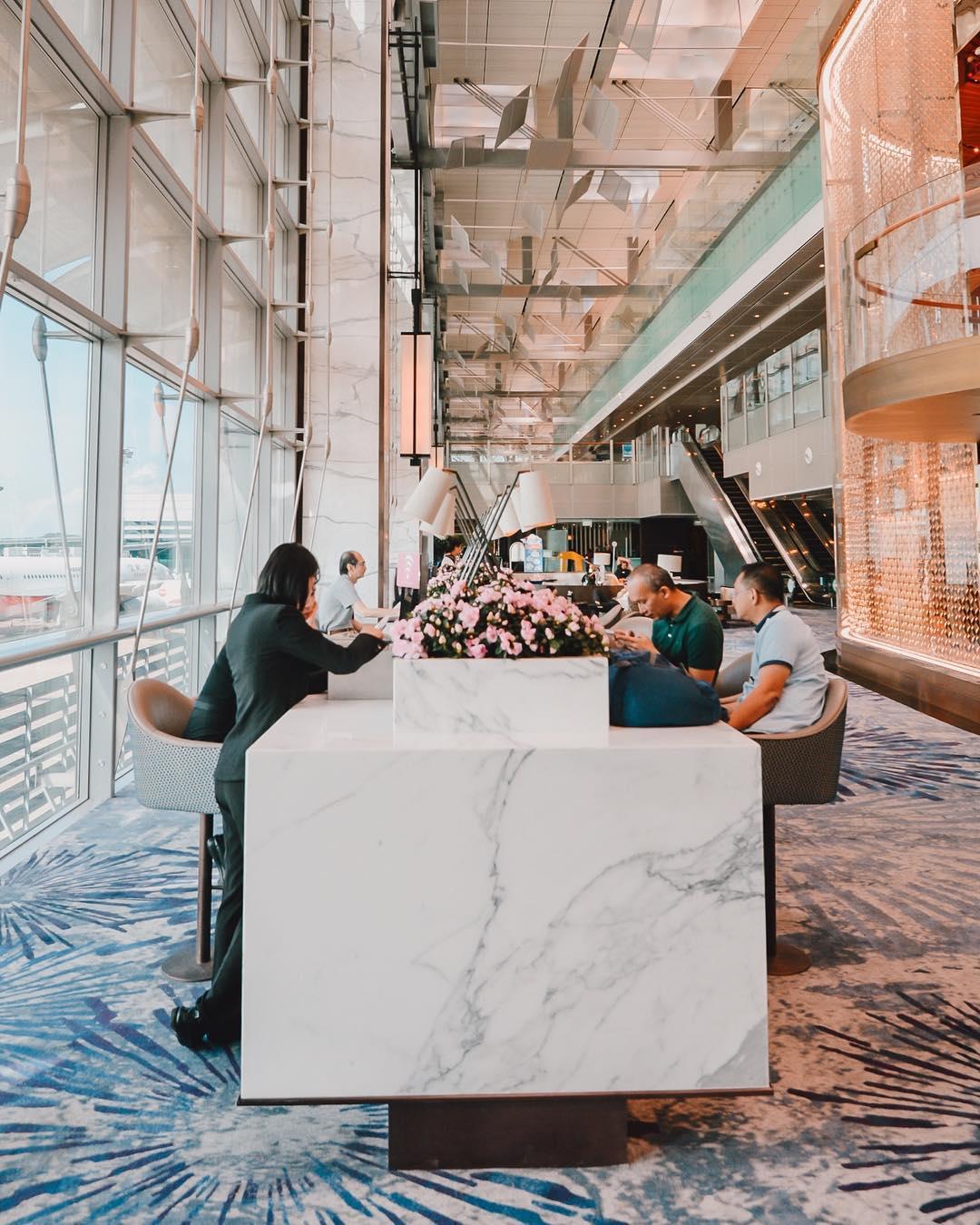 cara mengisi kartu imigrasi Singapore: Changi Airport