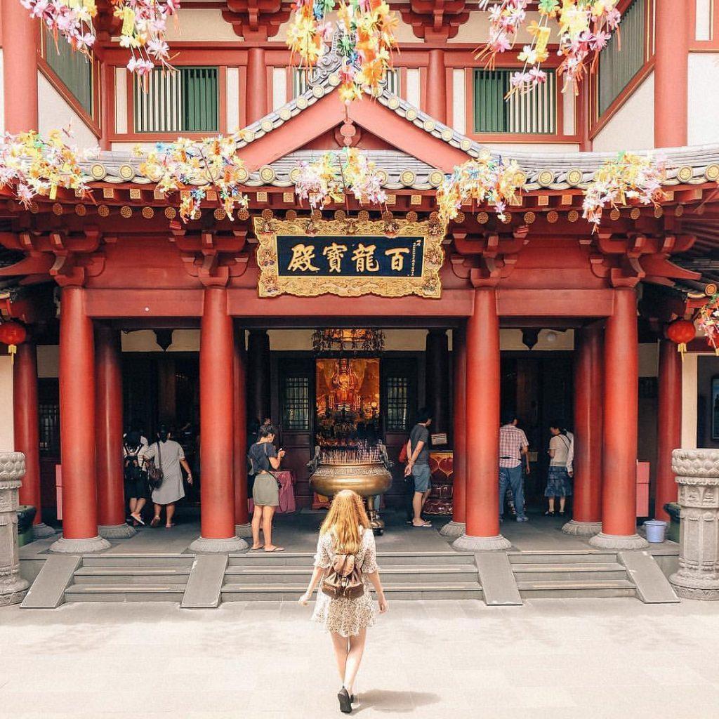 jalan jalan ke Singapore: Buddha Tooth Relic Temple and Museum