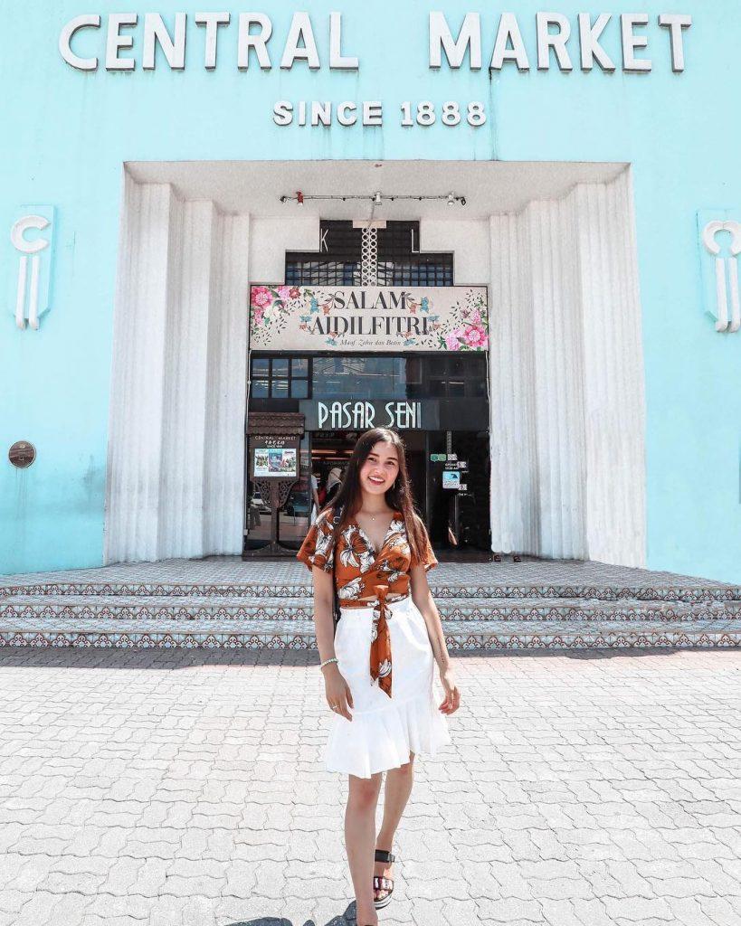 backpacker ke Malaysia: Central Market