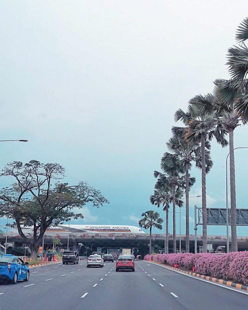 cara ke Singapura dari Malaysia: Changi Airport