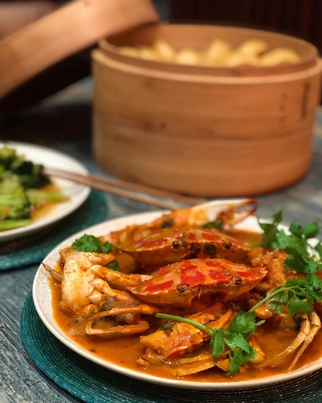 makanan khas Singapura: Chili Crab