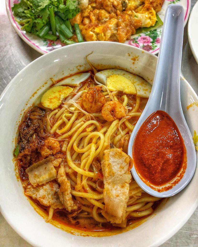 makanan khas Singapura: Hokkien Prawn Mee