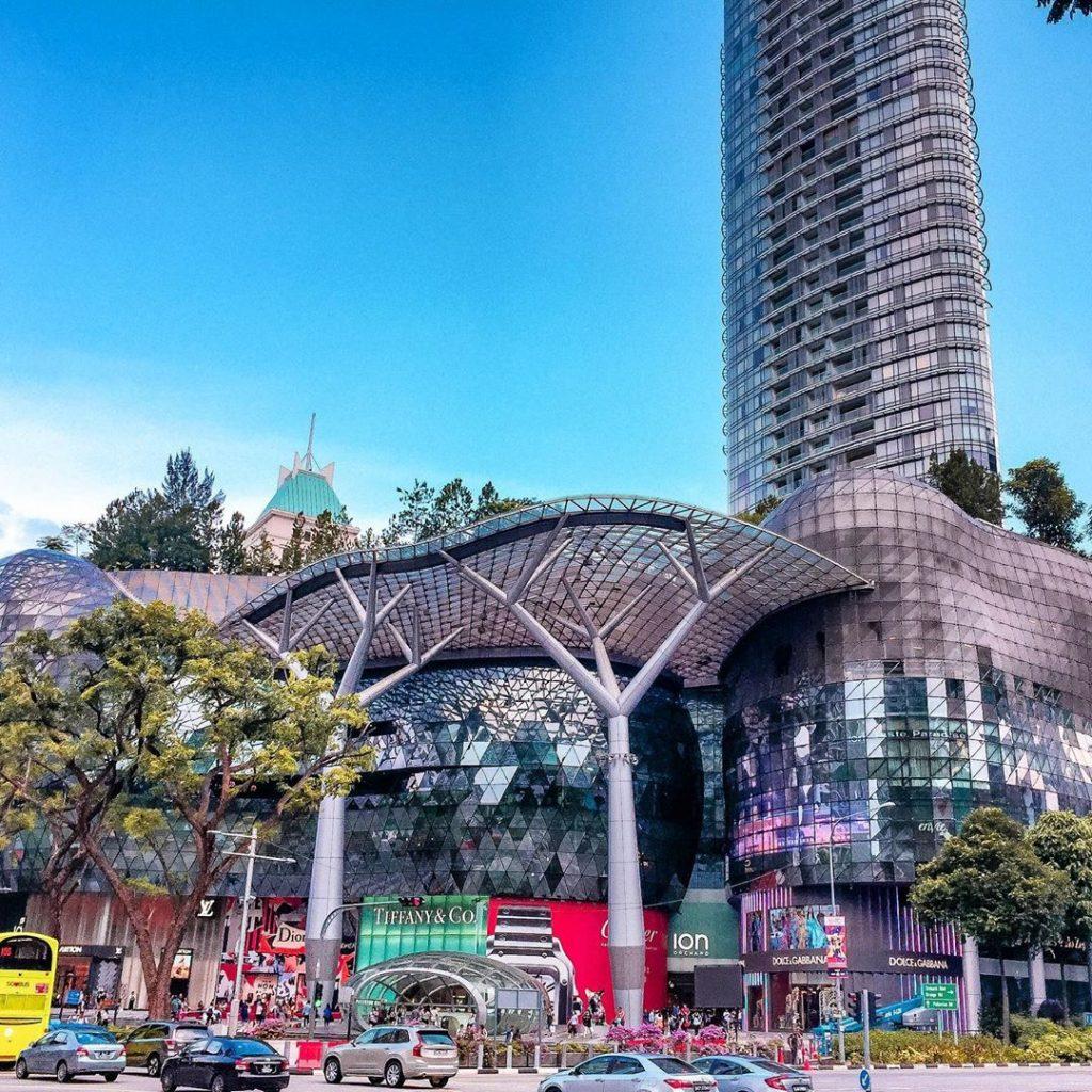 cara ke Singapura dari Malaysia: ION Orchard