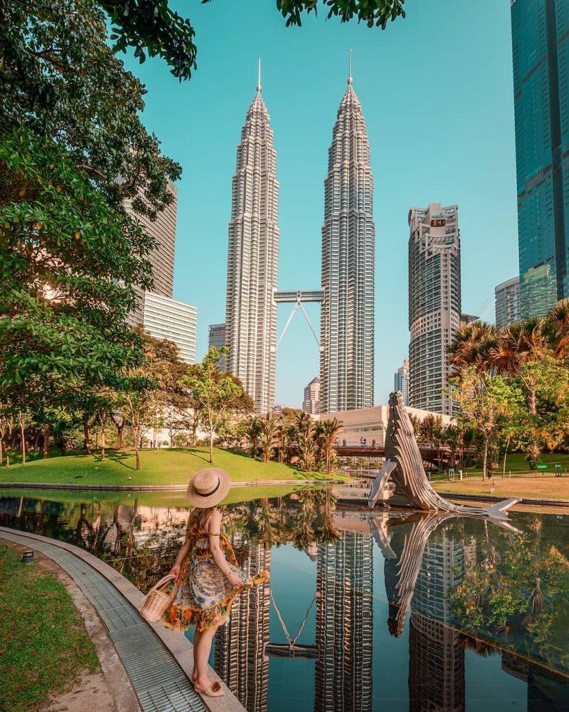 cara ke Singapura dari Malaysia: KLCC Park