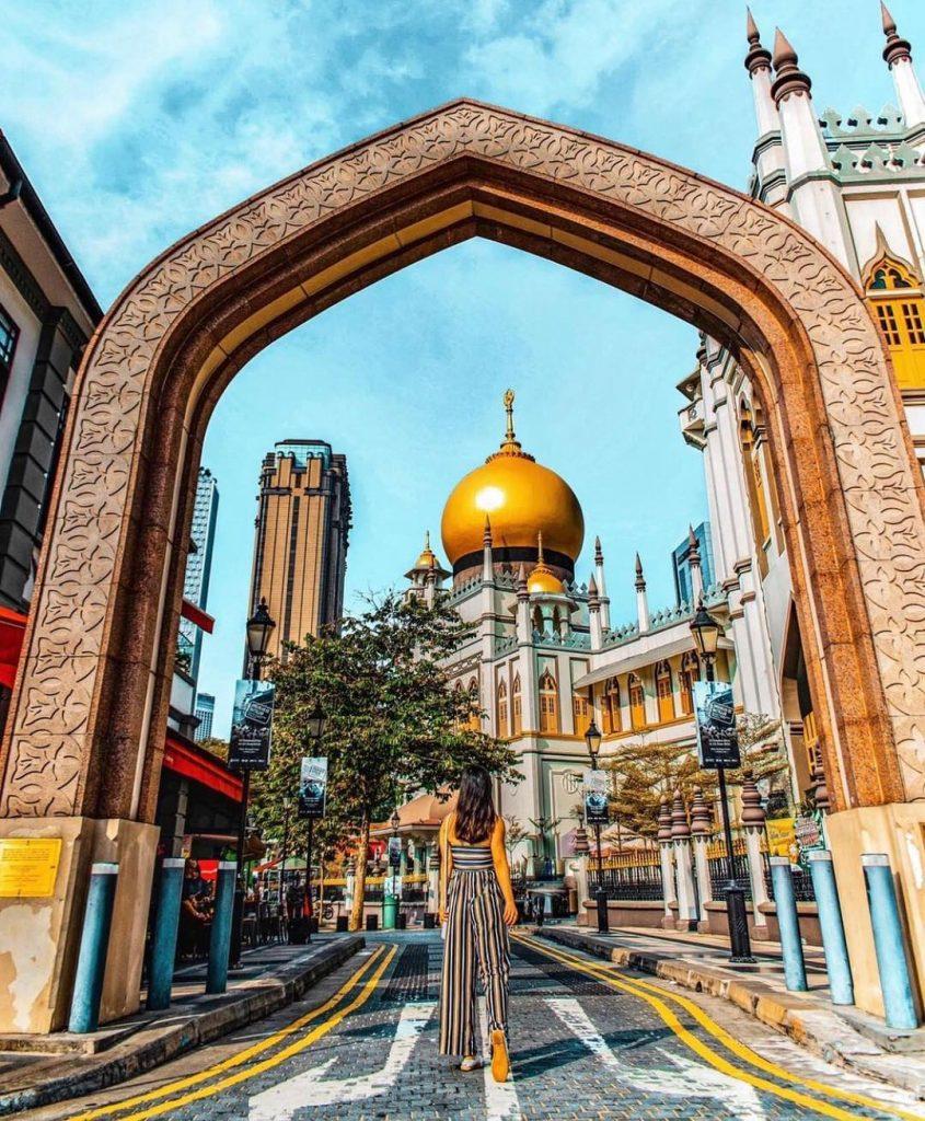jalan jalan ke Singapore: Masjid Sultan