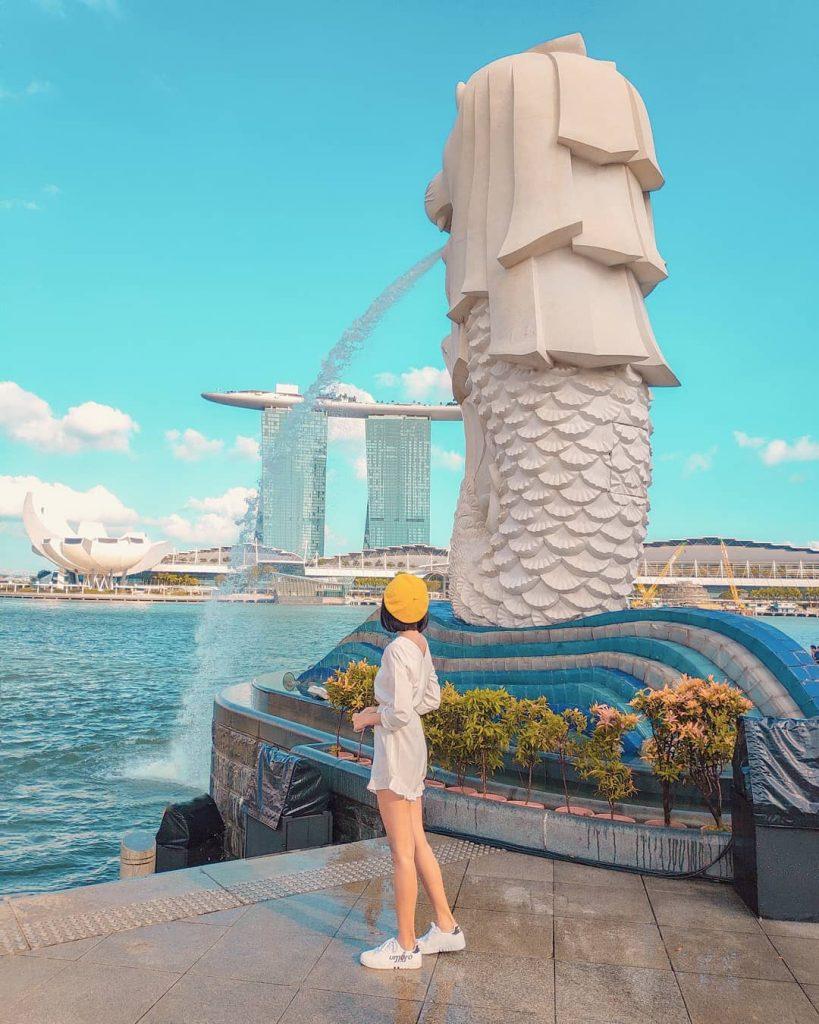 tempat wisata singapore: Merlion Park