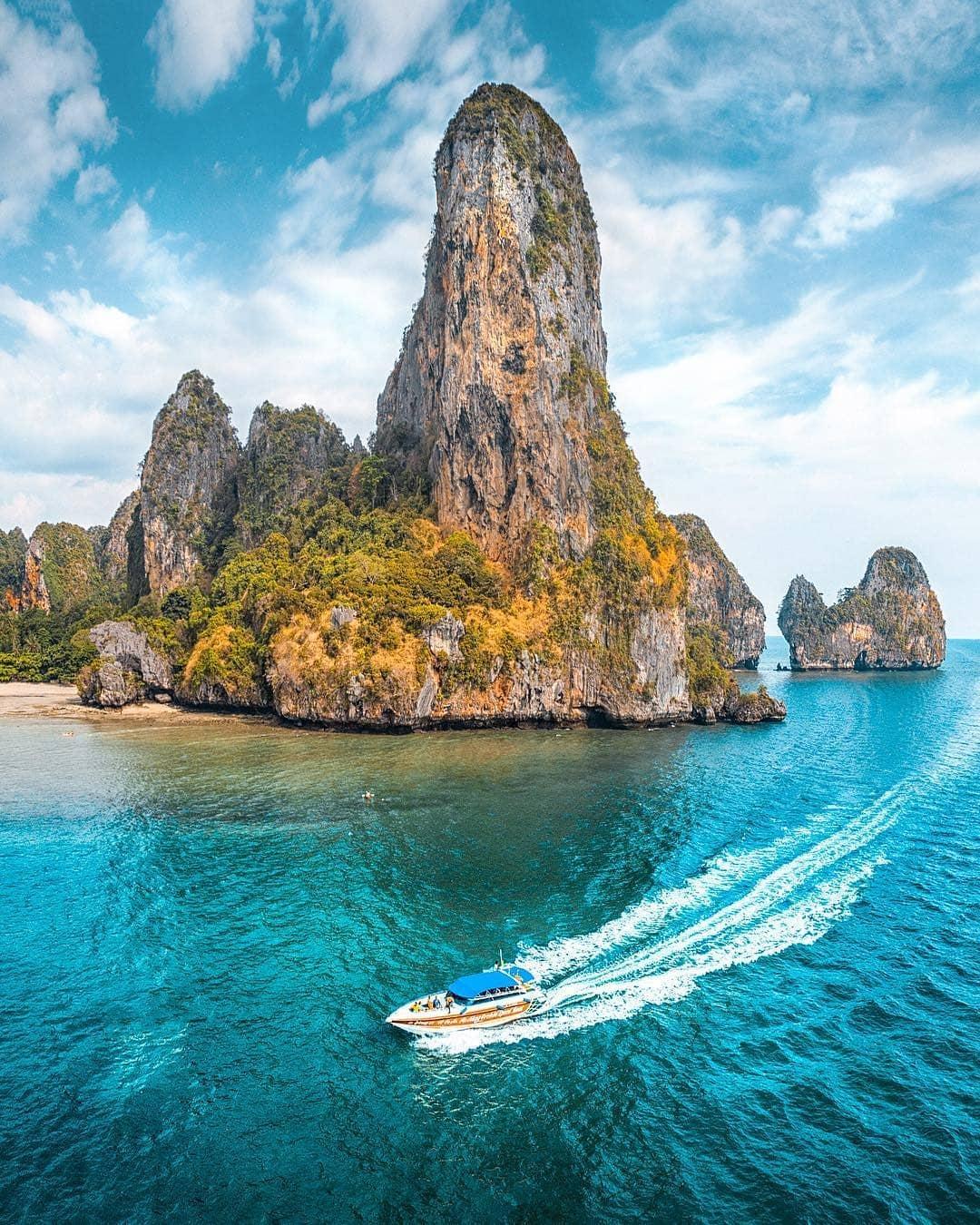 jalan jalan ke thailand: Railay Beach