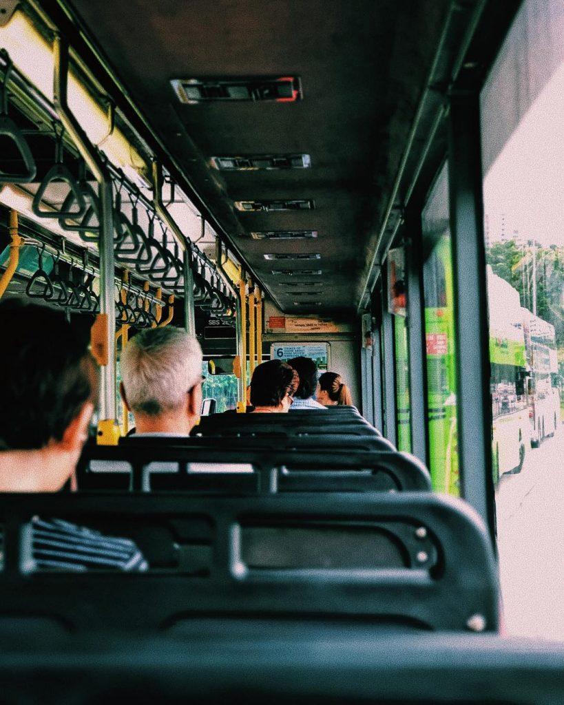 cara ke Universal Studio Singapore: Singapore Bus