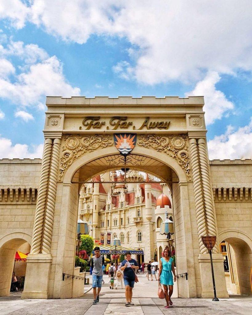 cara ke Universal Studio Singapore: Gerbang Universal Studios Singapore