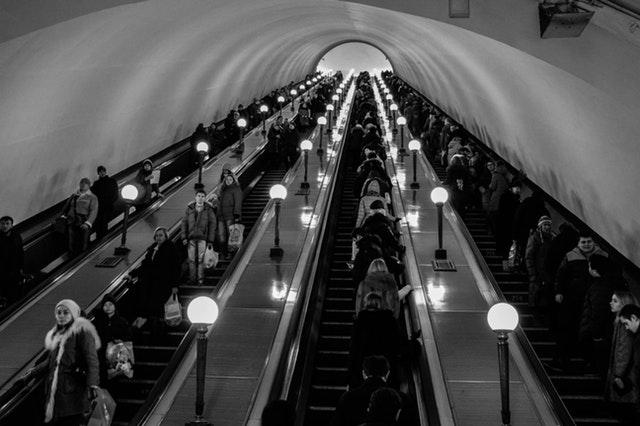 fakta jepang : eskalator jepang