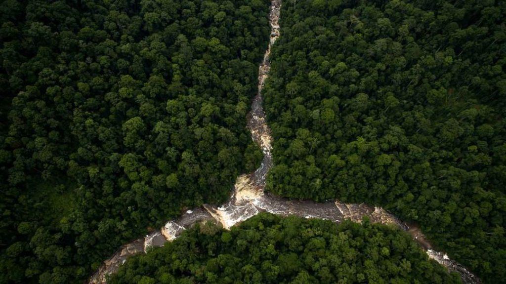 Sungai di Malaysia : Maliau Basin Conservation Area