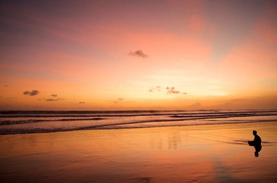 Double Six Beach - Foto, Lokasi, Review, Rute & Fasilitas - Befree Tour