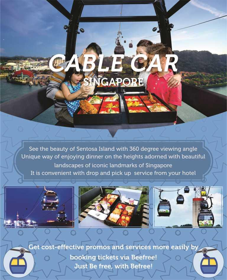 Singapore Cable Car Ticket