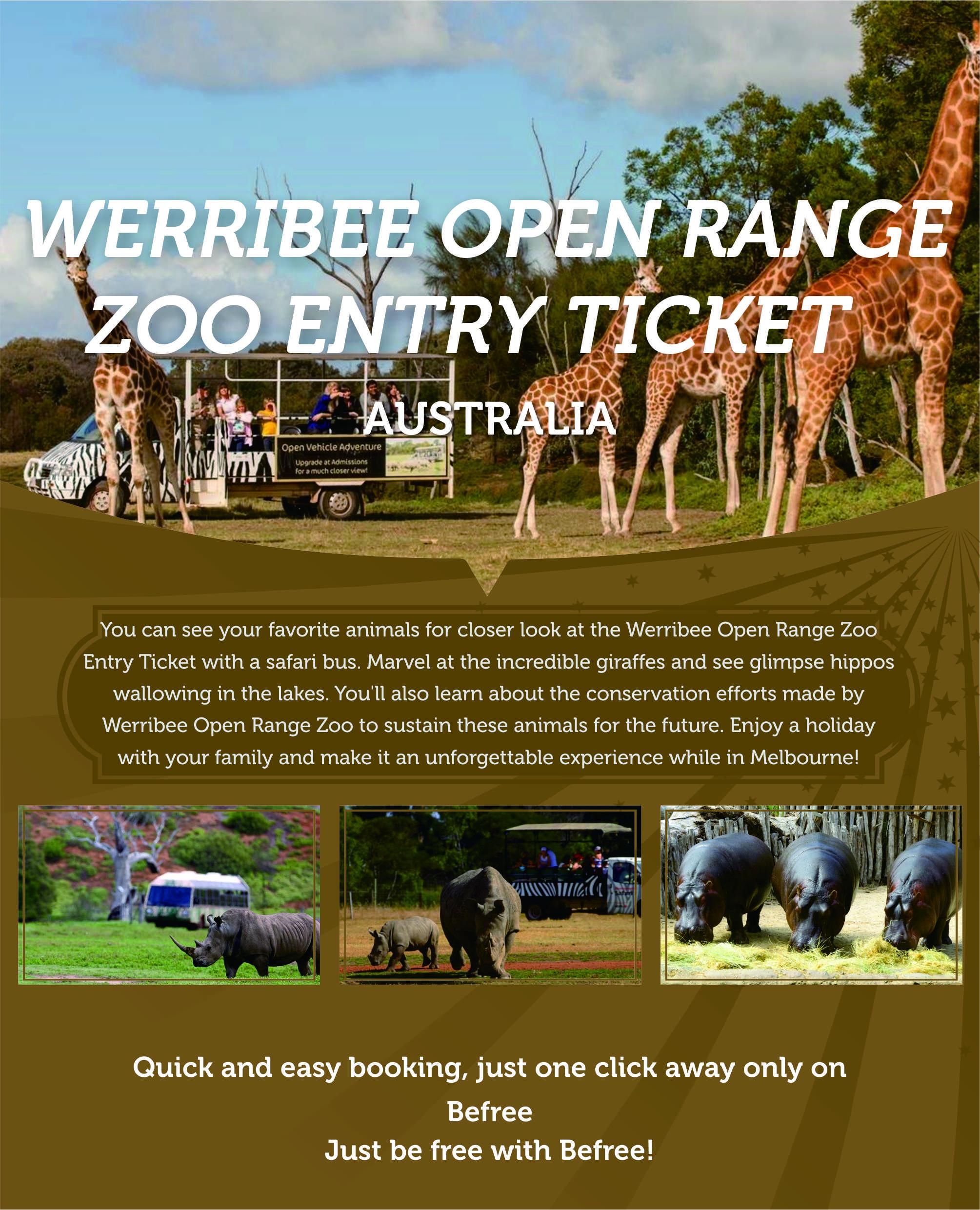 werribee-open-range-zoo-entry-ticket