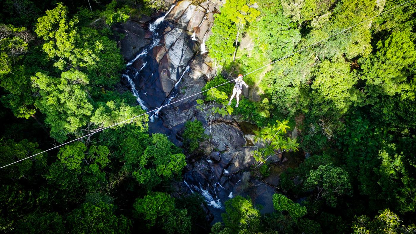 Langkawi Zipline Adventure Experience