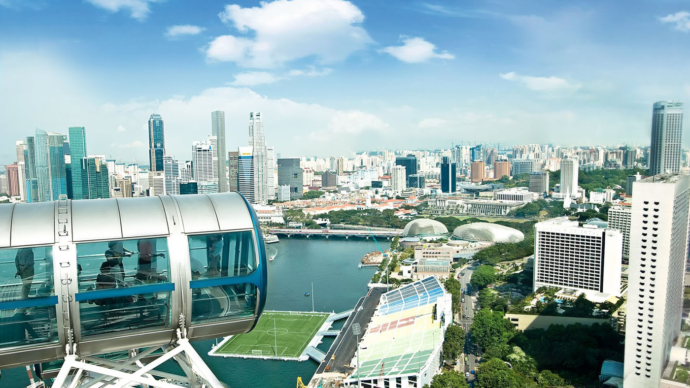 Singapore Flyer And Gardens By The Bay Package Tiket Garden Dewasa Fisik Image