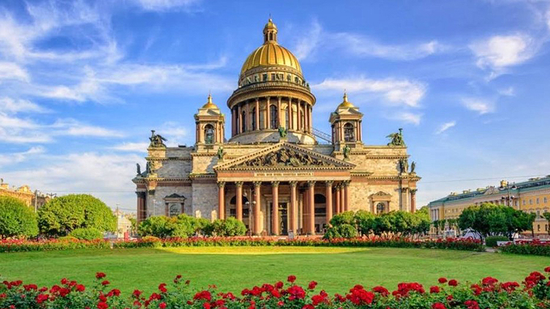 Saint Peterburg Saint Isaac's Cathedral Ticket