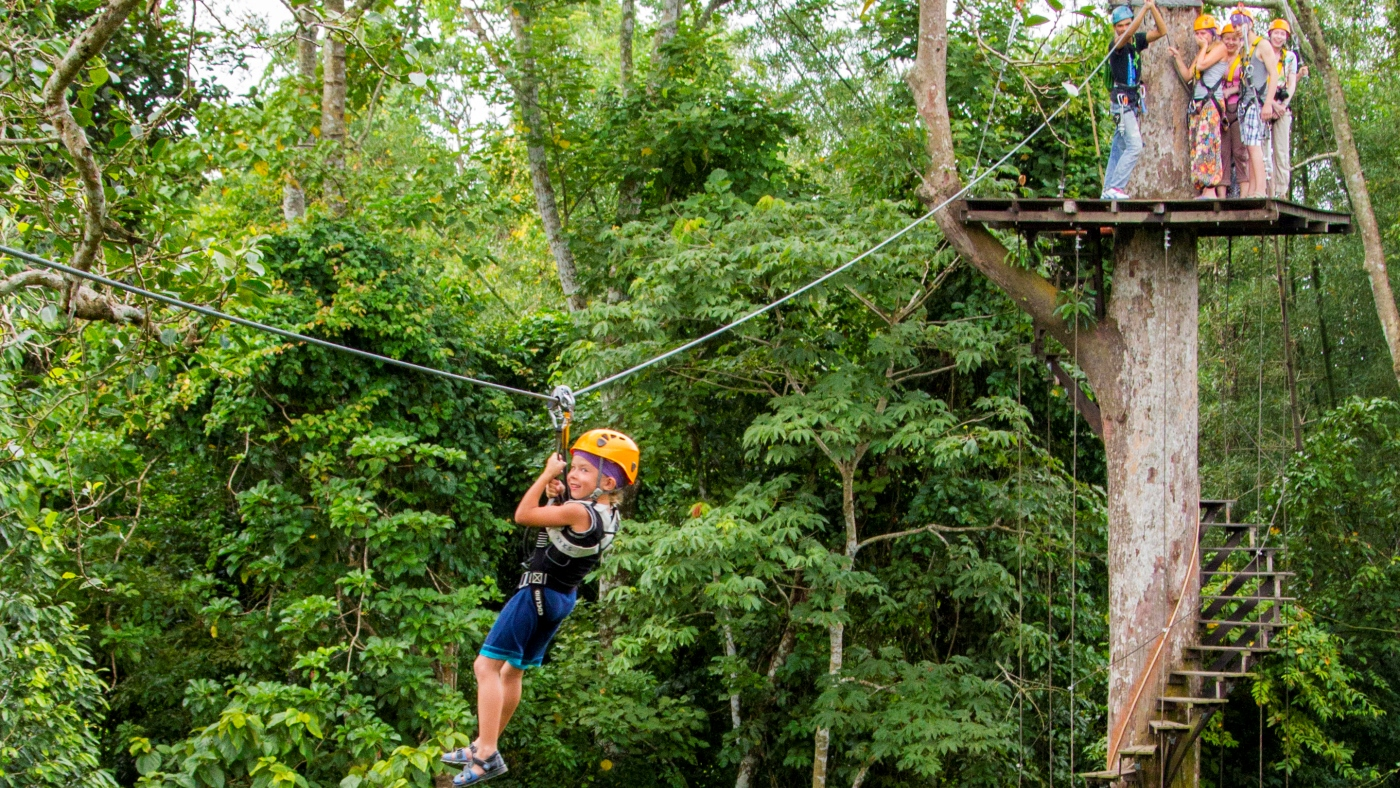 Eagle Track Zipline Adventure