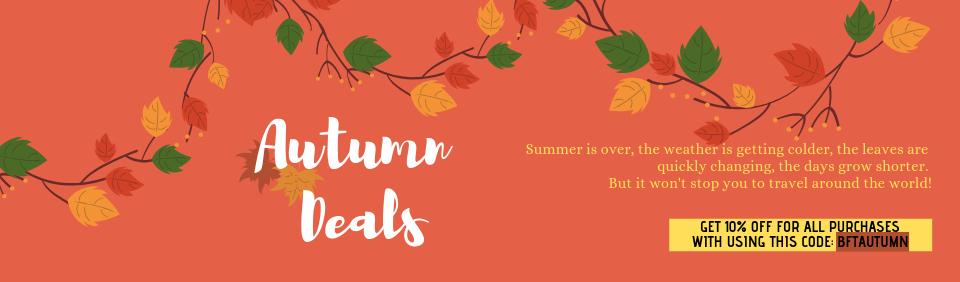 BeFreeTour Autumn Deals