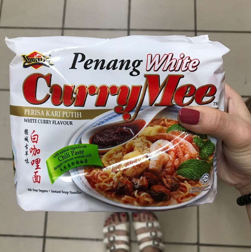 Penang White Curry Mee