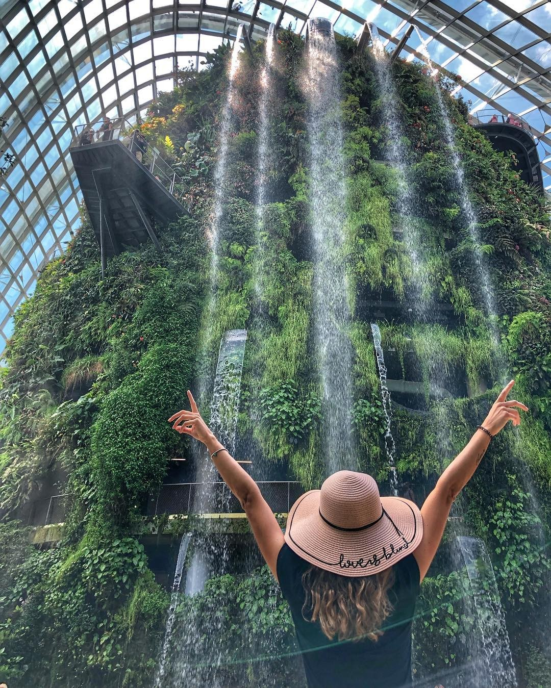 Cloud Forest, Garden by the Bay by @fabyola_m