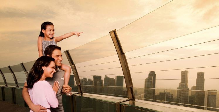 Marina Bay Sands SkyPark Observation Desk
