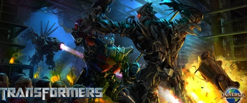 Transformers 3D: The Ride, Pertarungan Seru Para Robot