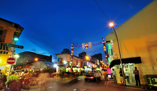 Little India Night View